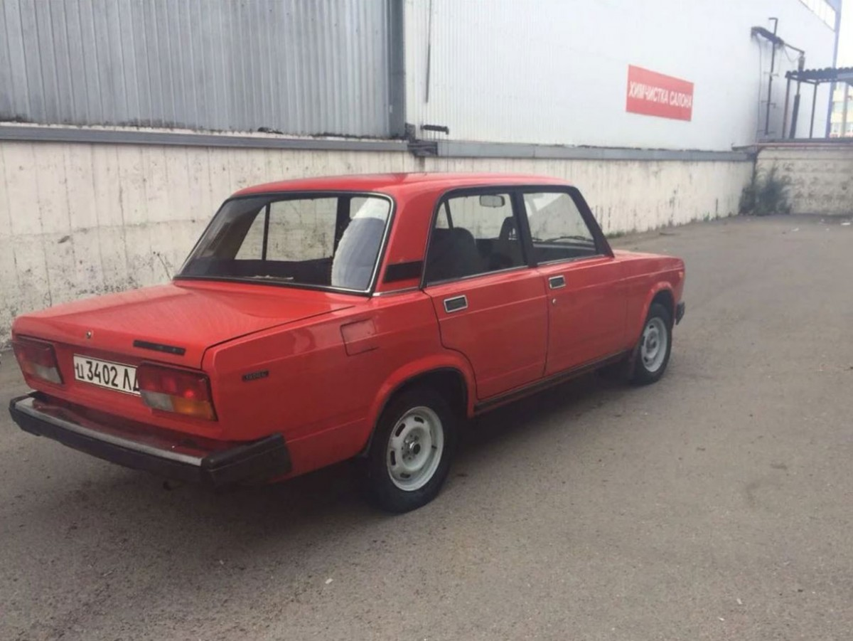 ВАЗ 2107, 1989