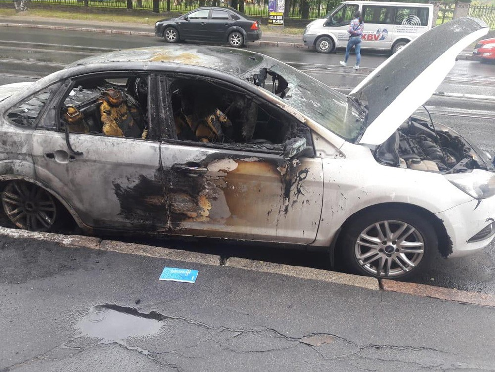 Выкуп сгоревших авто - Форд Фокус