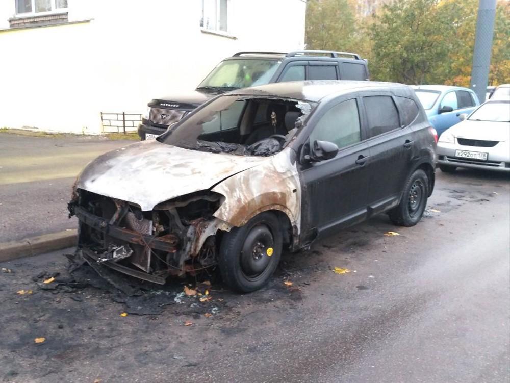Скупка сгоревших авто - Nissan Qashqai