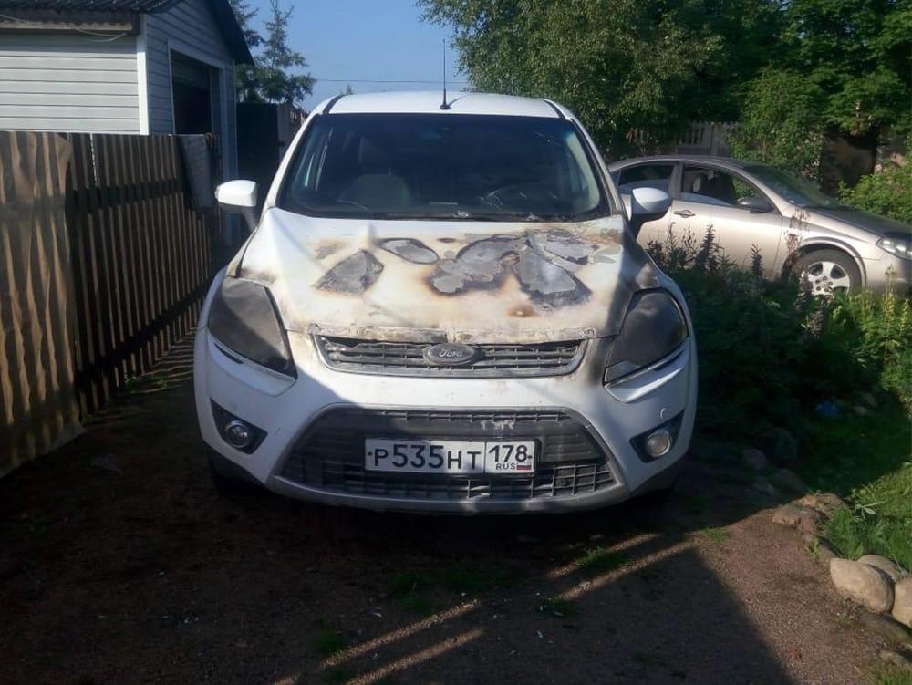Скупка сгоревших автомобилей Ford Kuga